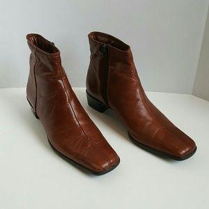 Sesto Meucci soft boots brown women size 9N